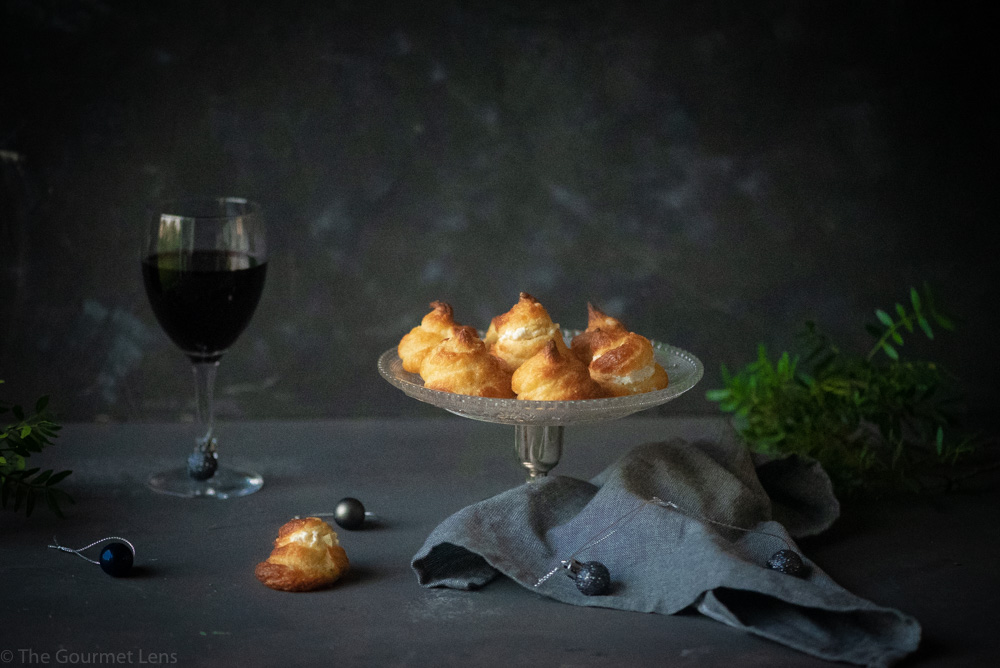 The Gourmet Lens Manchego Creamy Cheese Puffs