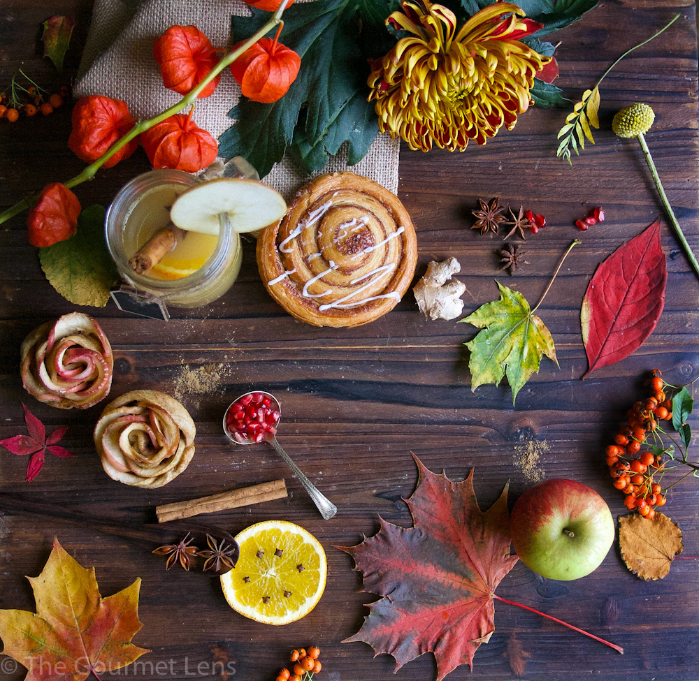 The Gourmet Lens Autumn Flatlay
