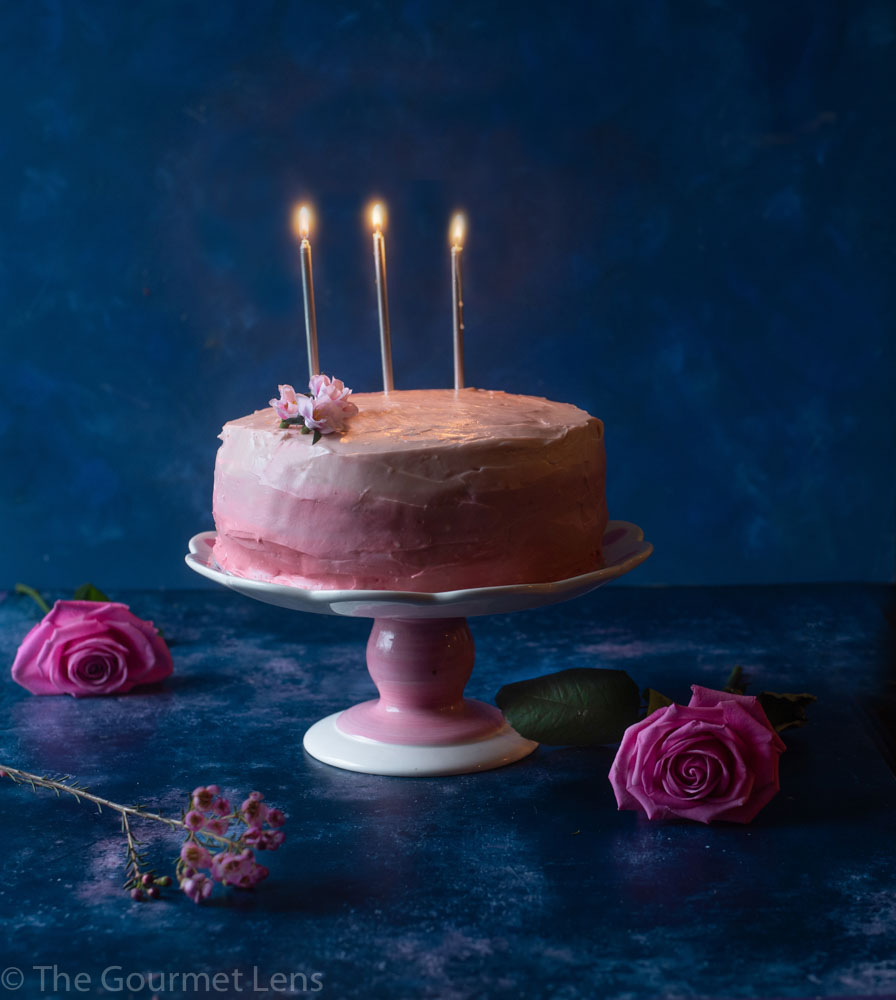 The Gourmet Lens Red Velvet Ombre Cake