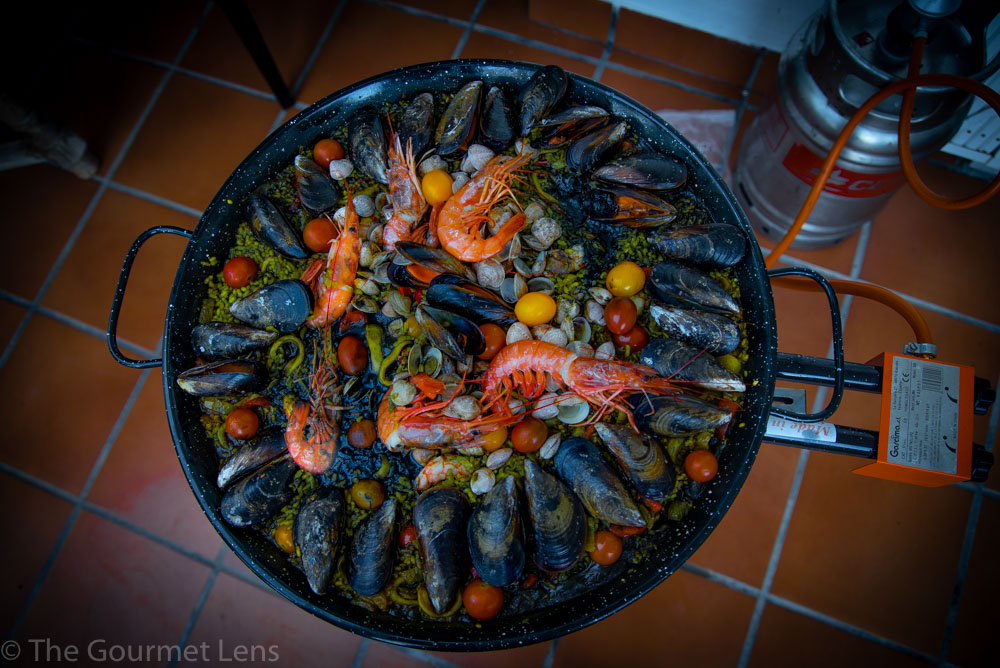 The Gourmet Lens Black Rice Paella