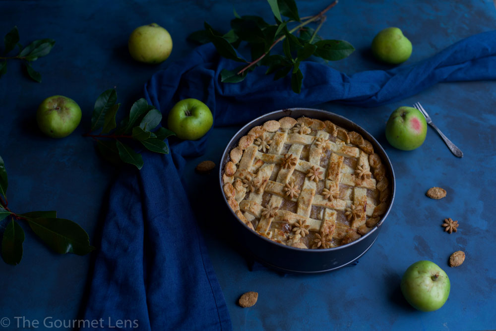 The Gourmet Lens Dutch Apple Pie