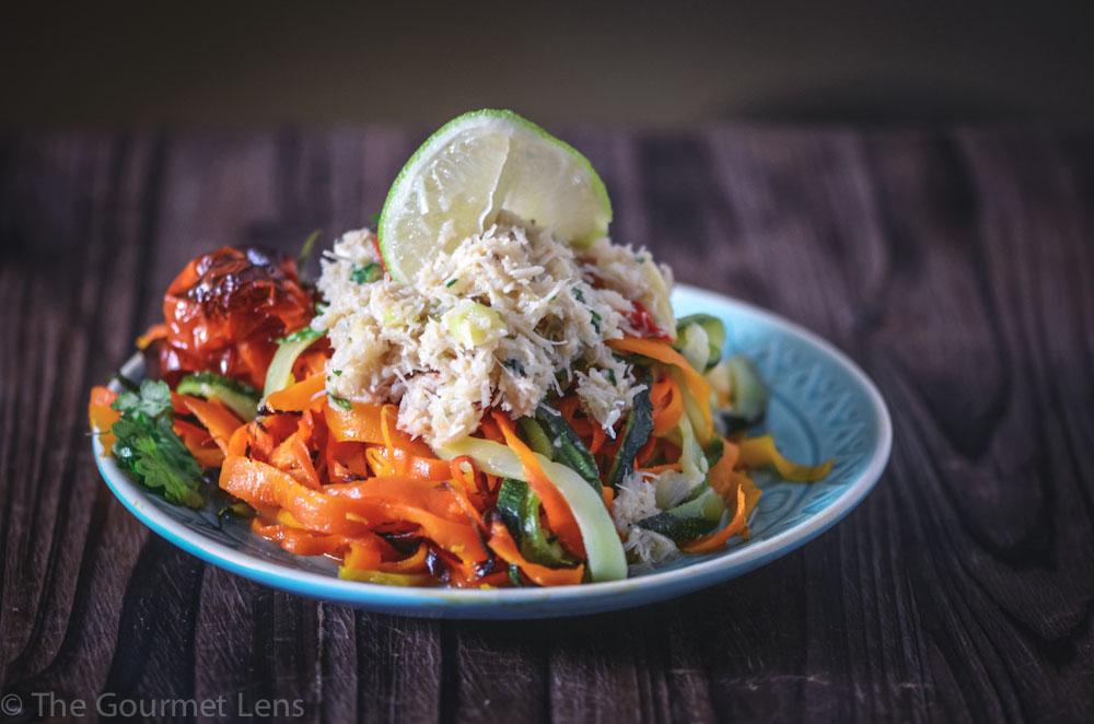 The Gourmet Lens Thai Crab Noodles
