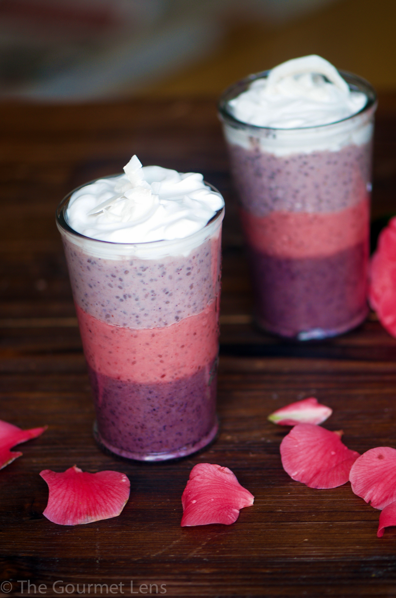 The Gourmet Lens Berry Chia Seed Pudding
