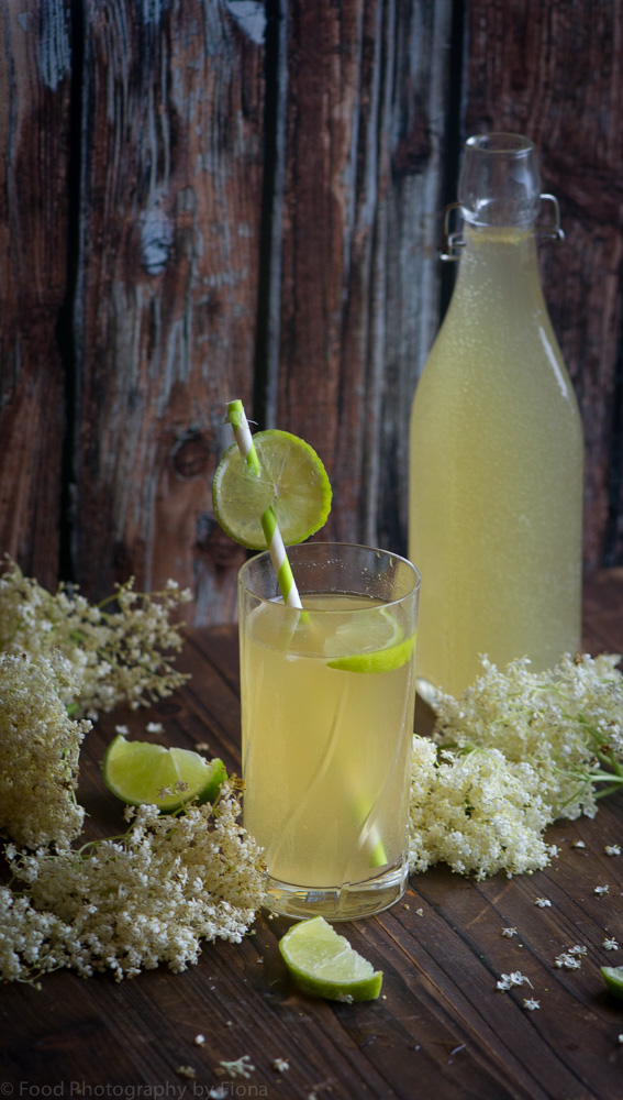elderflower and lemon cordial