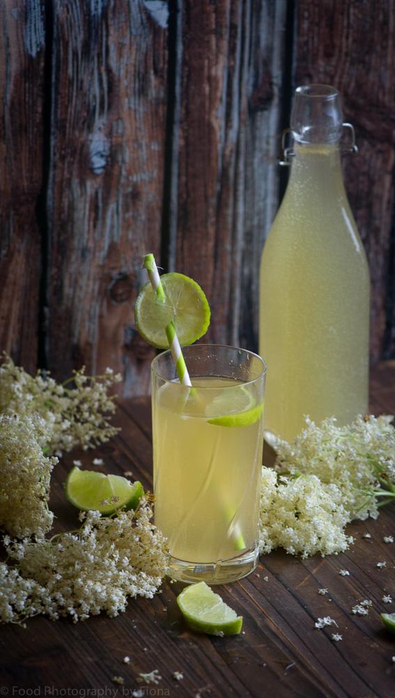elderflower and lime cordial