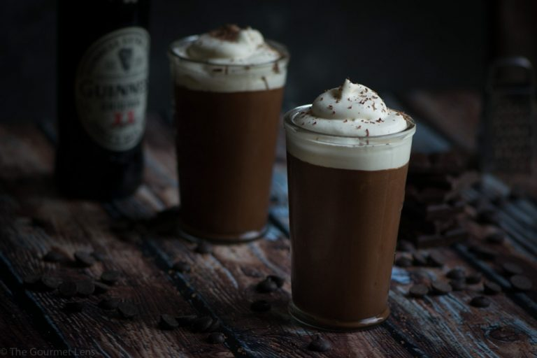 he Gourmet Lens Guinness and Chocolate Mousse 3