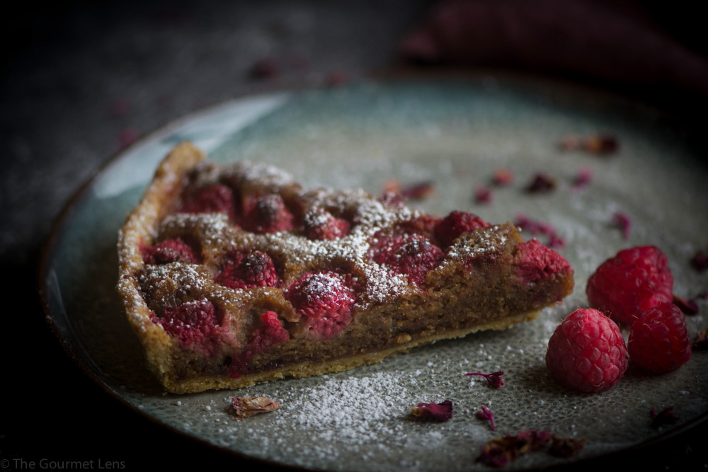Fiona @ The Gourmet Lens Raspberry Tart