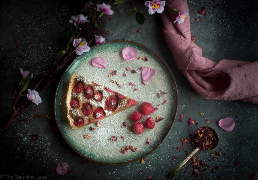 The Gourmet Lens Raspberry Tart