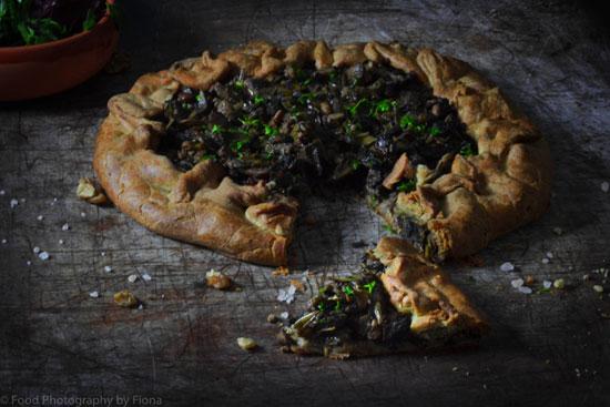 Fiona @ The Gourmet Lens Mushroom Pie