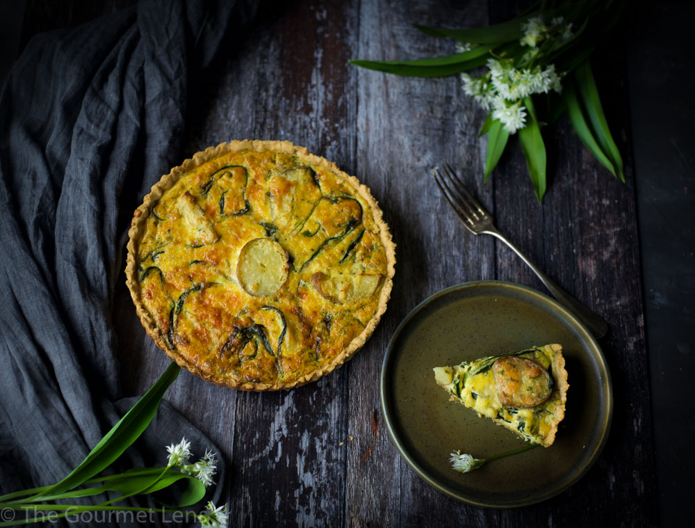 Wild Garlic Tart