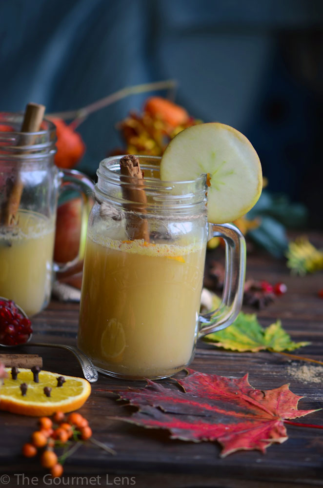 The Gourmet Lens Spiced Apple Drink