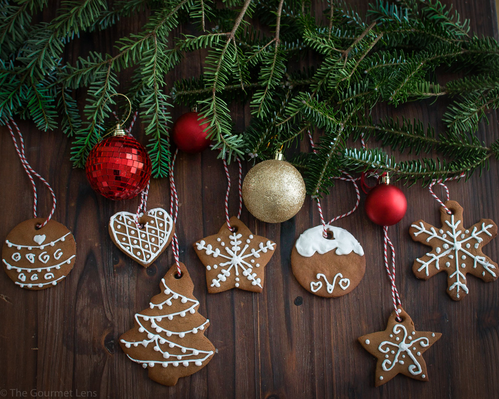 The Gourmet Lens Spelt Gingerbread Cookies