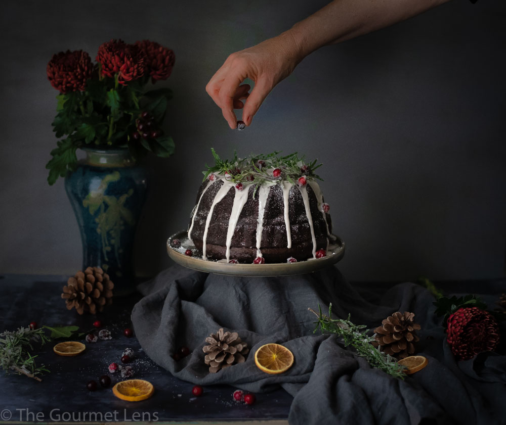 The Gourmet Lens Ginger and Orange Spice Cake